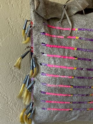 Native American Blackfeet Teepee Bag 2