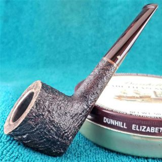 Unsmoked Becker Bullnosed Pot Freehand Italian Estate Pipe 360 Ring Grain