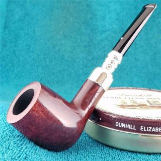1996 Dunhill Bruyere Big Group 5 Silver Spigot Billiard English Estate Pipe