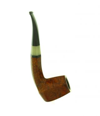 POUL ILSTED HORN INSERT PANELED BIRDS EYE PIPE UNSMOKED 2