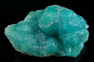 Extraordinary Blue Smithsonite Crystal Cluster Choix,  Mexico - Ex.  Key