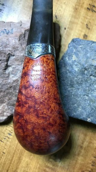 S Bang pipe,  handmade in denmark,  2003 4