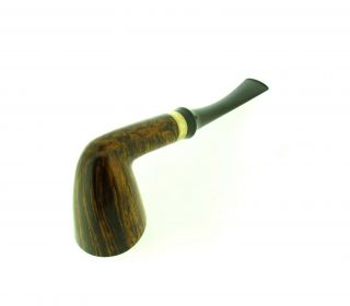 ANNE JULIE OF DENMARK GOLDEN CONTRAST SILVER BAND PIPE 4