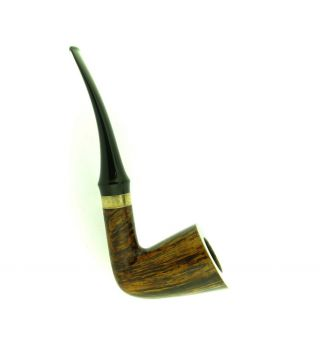 ANNE JULIE OF DENMARK GOLDEN CONTRAST SILVER BAND PIPE 6