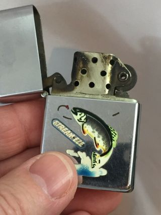 2032695 Patent TOWN & COUNTRY Zippo Lighter - FISH.  With Advertising 9
