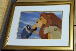 Disney Lion King Circle Of Life Limited Pp35/50 Proof Animation Cel Sericel Art