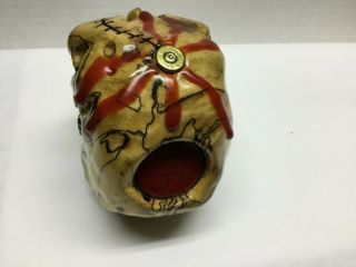 HAND CARVED SKULL BY NORM GRABOWSKI SHIFTER KNOB 3