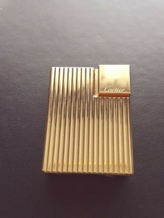 Cartier Gadroon Motif Collectible Lighter