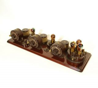 1923 Atwater Kent Model 10 Breadboard Radio In Factory Crate All 5