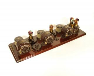 1923 Atwater Kent Model 10 Breadboard Radio In Factory Crate All 6