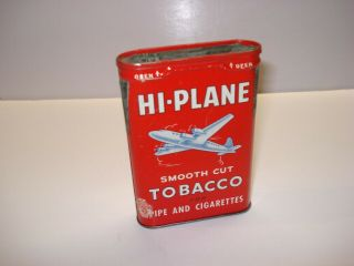 Hi - Plane Pocket Tobacco Tin.  4 - Engine.