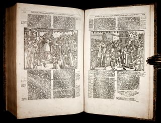 1641 FOXE Book of Martyrs ACTS & MONUMENTS English PROTESTANT CHURCH HISTORY 5