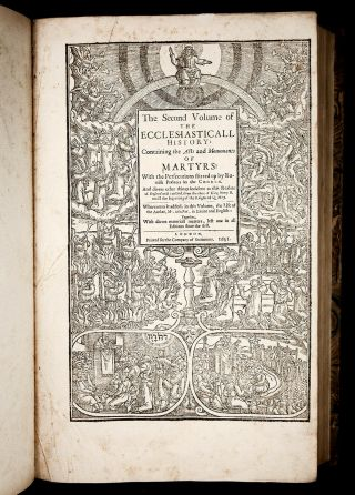 1641 FOXE Book of Martyrs ACTS & MONUMENTS English PROTESTANT CHURCH HISTORY 6