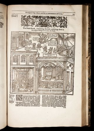 1641 FOXE Book of Martyrs ACTS & MONUMENTS English PROTESTANT CHURCH HISTORY 8