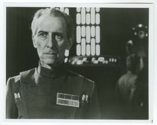 "Peter Cushing - Grand Moff Tarkin,  "" Star Wars "" - Autographed 8x10 Photograph"