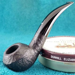 1974 Dunhill Shell 3/4 Bent Rhodesian English Estate Pipe