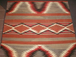 Navajo Chiefs Blanket.  Late19th / Early 20th Century Near,  Special Colors