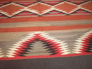 Navajo Chiefs blanket.  Late19th / Early 20th century near,  Special colors 8