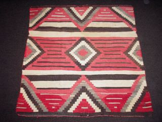 Navajo Chiefs Blanket 19th Century Native Worn