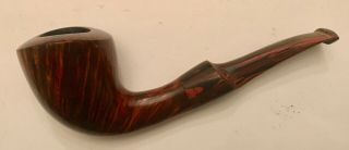Erik Niesel Form Bent Briar Pipe: Estate Item
