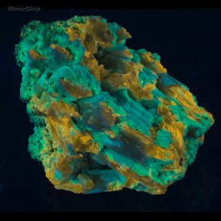 Msw2506: Large Plumbogummite After Pyromorphite - China Fluorescent Mineral