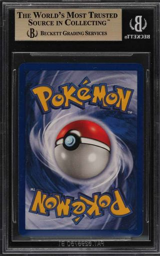 1999 Pokemon Game 1st Edition Holo Charizard THICK STAMP 4 BGS 9.  5 GEM (PWCC) 2