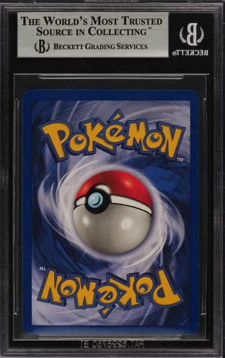 1999 Pokemon Game 1st Edition Holo Charizard THICK STAMP 4 BGS 9 (PWCC) 2
