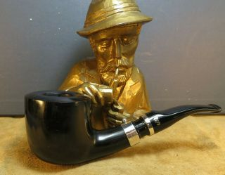 Top Stanwell Year Pipe 2003 Design By Tom Eltang Silver 9 Mm Filter