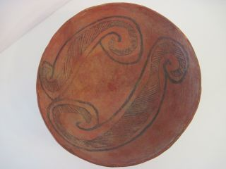 Anasazi Black - On - Red Puerco Bowl (1030 To 1150 Ad) ; Investment Quality
