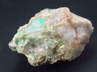 Ajoite In Quartz Crystal From South Africa - 2.  0 ""
