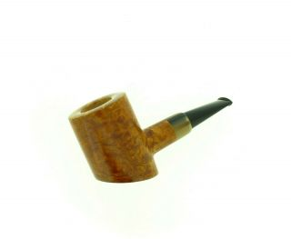 A,  Mironov Horn Insert Poker Pipe Unsmoked