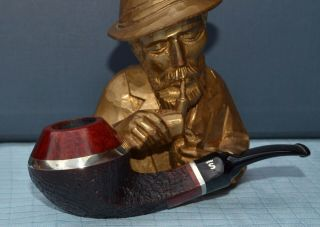 Top Stanwell Year Pipe 1997 Silver Design By Tom Eltang 9 Mm Filter