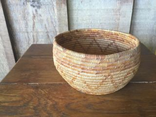 Southern California Mission Indian Native American Basket 1900s