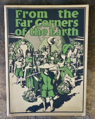 """"""" From The Far Corners Of The Earth """" 1927 Advertising Book,  Western Electric Co."""