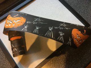 Rare Antique Halloween Paper Border C.  1930s - 1940s—8 Ft.  Long