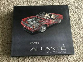 1993 Cadillac Allante,  Media Press Book.