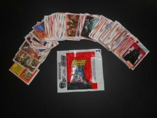 1980 Topps Star Wars Empire Strikes Back Series 1 & 2 Complete 264 Card Set Ex,