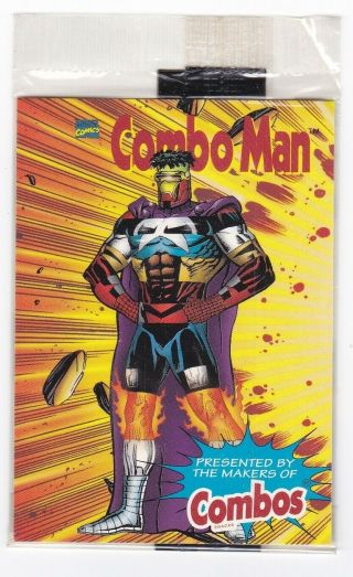 1996 Marvel Comics Combos Combo Man Powers 1 Of 3 Punisher Captain America
