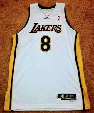 Kobe Bryant 2004 - 05 Game Worn Lakers Jersey Lampson Loa Team Issue Pro Cut