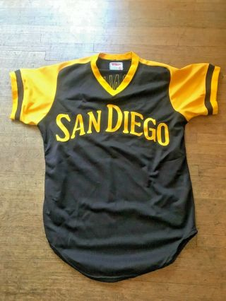 1977 Randy Jones San Diego Padres Jersey Game Or Game Issued?