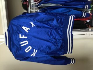 Sandy Koufax game worn Dodgers jacket.  Goodman's size 44 hall of fame 2