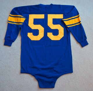 Vintage 1950s Tom Fears Los Angeles Rams Game Worn Jersey Rare NFL HOF H.  O.  F. 2