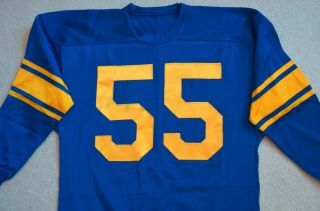 Vintage 1950s Tom Fears Los Angeles Rams Game Worn Jersey Rare NFL HOF H.  O.  F. 5