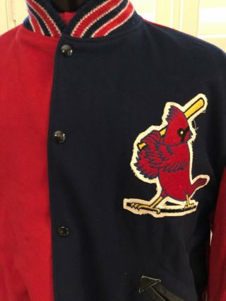 Early 1970's Ted Simmons St.  Louis Cardinals Game Worn Dugout Jacket