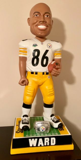 """Hines Ward And Jerome Bettie 36"""" Bobble Head.  Pittsburgh Steelers"""
