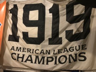 1919 Chicago Black Sox White Sox Game Flag Jersey