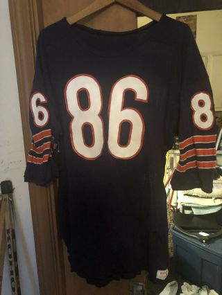 Bob Parsons Chicago Bears Game Worn Jersey