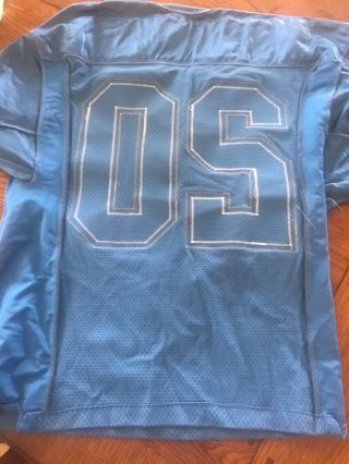 BARRY SANDERS 20 DETROIT LIONS GAME JERSEY CIRCA 1990's HALL OF FAME L@@K 9