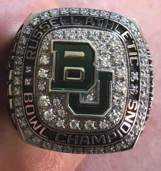 2015 Baylor Bears Russell Athletic Bowl Champions Championship Players Ring