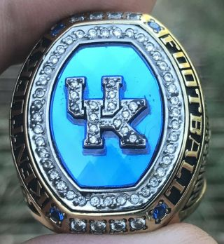 2016 Kentucky Wildcats Sec All American Player Champions Championship Bowl Ring